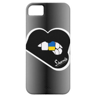 Sharnia's Lips Ukraine Mobile Phone Case Blk Lips