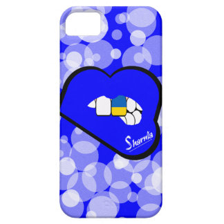 Sharnia's Lips Ukraine Mobile Phone Case Blu Lips