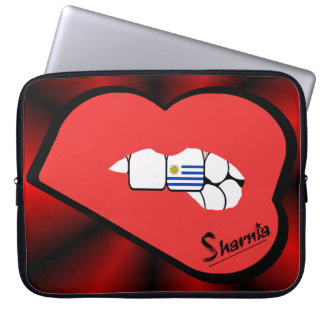 Sharnia's Lips Uruguay Laptop Sleeve (Red Lips)