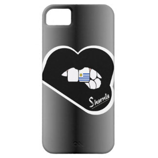Sharnia's Lips Uruguay Mobile Phone Case Blk Lips