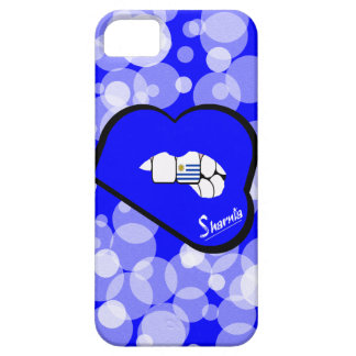 Sharnia's Lips Uruguay Mobile Phone Case Blu Lips
