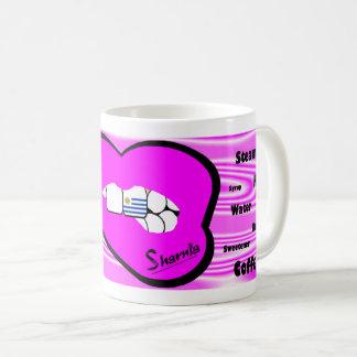 Sharnia's Lips Uruguay Mug (PINK Lip)
