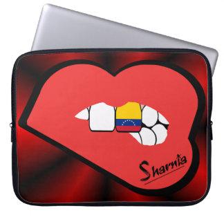 Sharnia's Lips Venezuela Laptop Sleeve (Red Lips)