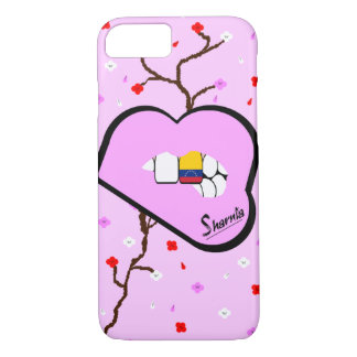 Sharnia's Lips Venezuela Mobile Phone Case Lp Lp