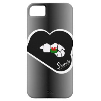 Sharnia's Lips Wales Mobile Phone Case (Blk Lips)