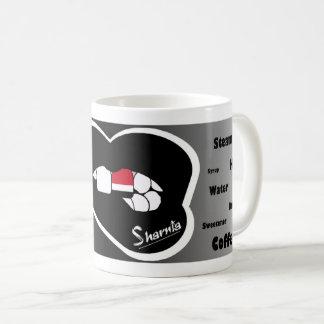 Sharnia's Lips Yemen Mug (Blk Lip)