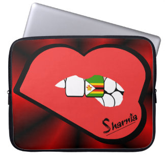 Sharnia's Lips Zimbabwe Laptop Sleeve (Red Lips)