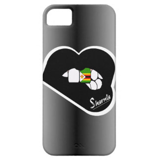 Sharnia's Lips Zimbabwe Mobile Phone Case Blk Lip
