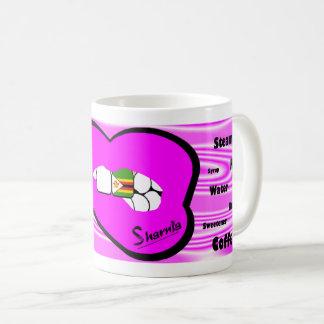 Sharnia's Lips Zimbabwe Mug (PINK Lip)
