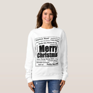 Sharnia's Merry Christmas Sweatshirt