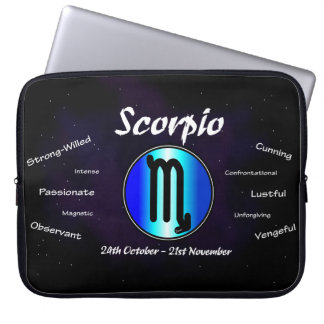 Sharnia's Scorpio Neoprene Laptop Sleeve 15""