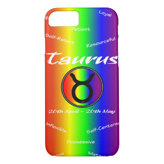 Sharnia Taurus Mobile Phone Case (Rainbow)