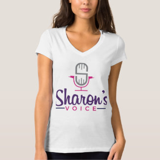 Sharon's Voice Voice Over T-Shirt