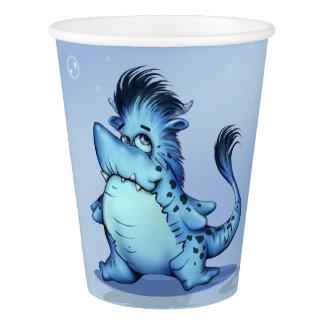 SHARP ALIEN MONSTER CUTE Paper Cup, 9 oz Paper Cup