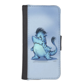 SHARP ALIEN MONSTER iPhone 5/5s Wallet Case