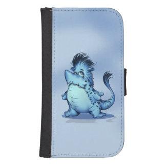 SHARP ALIEN MONSTER Samsung Galaxy S4 Wallet Case
