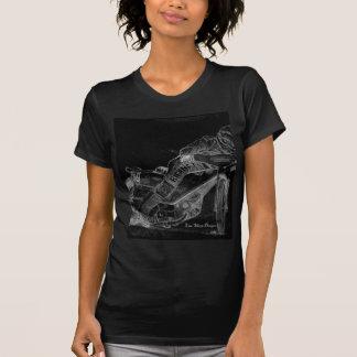 sharp designs. speedway bikeonblack T-Shirt