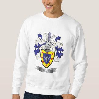 Sharp Family Crest Coat of Arms Sweatshirt