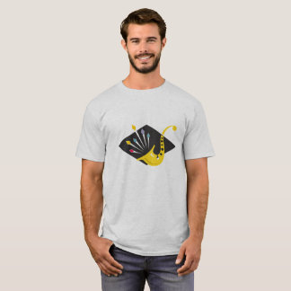 Sharp Jazz Saxophone Graphic T-Shirt