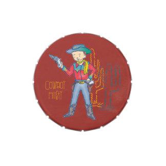 Sharp Shootin' Cowboy Rusty Jelly Belly Tins