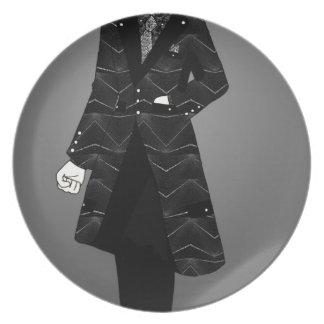 Sharp Suit Plate
