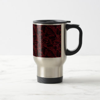 Sharp Tribal Pattern Travel Mug