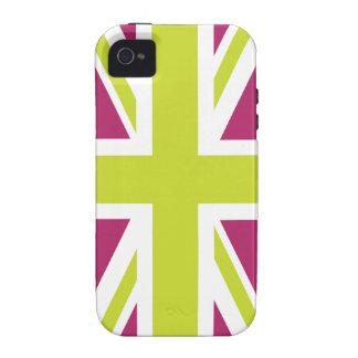 Sharpe Purple Union Jack British(UK) Flag iPhone 4 Covers