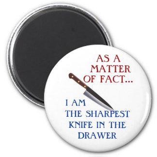 Sharpest Knife refrigerator magnet
