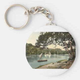 Sharpham on the Dart, Dartmouth, England rare Phot Key Ring