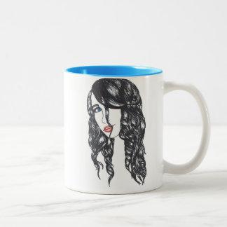 Sharpie All Over Mug 110z (White/Blue) 2