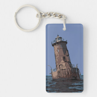 SHARPS ISLAND LIGHT KEY RING