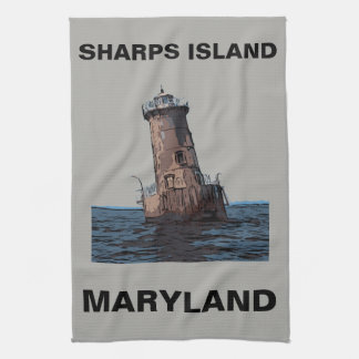 SHARPS ISLAND LIGHT TEA TOWEL