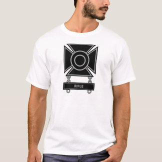 Sharpshooter Badge w/Rifle Bar T-Shirt