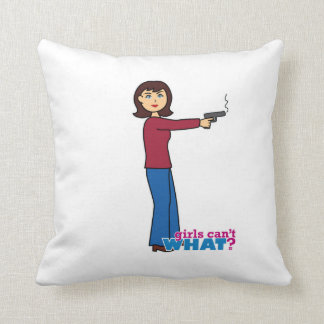 Sharpshooter Throw Pillow