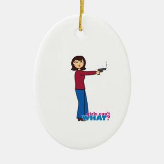 Sharpshooter Christmas Ornament