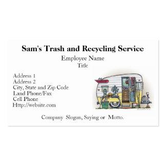 Shasta Camper Trailer RV Business Cards