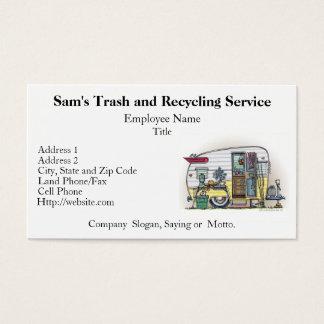 Shasta Camper Trailer RV Business Card