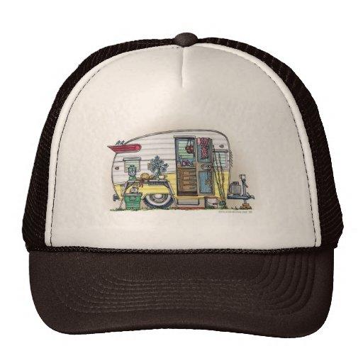 Shasta Camper Trailer RV Hats