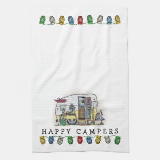Shasta Camper Trailer RV Tea Towel