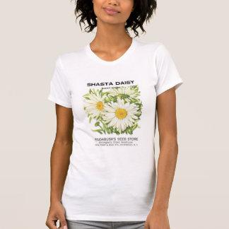 Shasta Daisy, Giant White, Roudabush's Seed Store T-Shirt