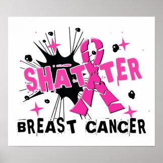 Shatter Breast Cancer Print