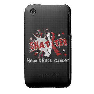 Shatter Head Neck Cancer iPhone 3 Case-Mate Cases