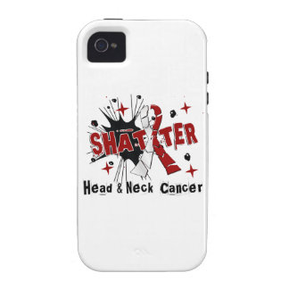 Shatter Head Neck Cancer Vibe iPhone 4 Case