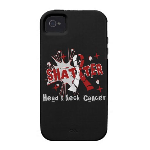Shatter Head Neck Cancer iPhone 4/4S Case