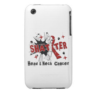 Shatter Head Neck Cancer iPhone3 Case