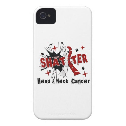 Shatter Head Neck Cancer iPhone 4 Covers