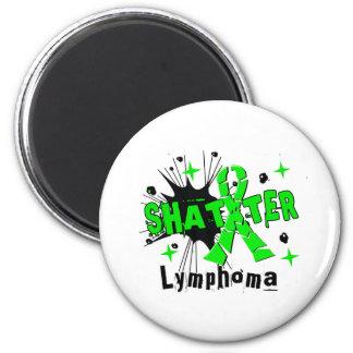 Shatter Lymphoma Fridge Magnet