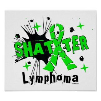 Shatter Lymphoma Print