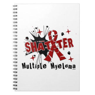 Shatter Multiple Myeloma Spiral Notebook