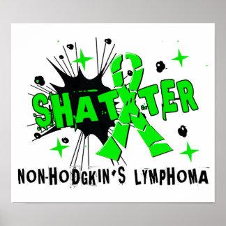 Shatter Non-Hodgkin s Lymphoma Print